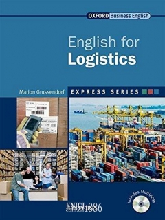 Учебник с диском Express Series English for Logistics, Marion Grussendorf | OXFORD