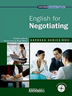 Учебник с диском Express Series English for Negotiating, Birgit Welch | OXFORD
