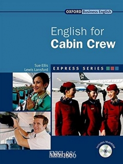 Учебник с диском Express Series English for Cabin Crew, Lewis Lansford | OXFORD