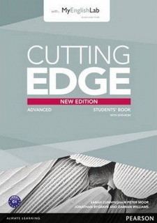 Cutting Edge Advanced, Students' Book+DVD+MyEnglishLab / Учебник английского языка