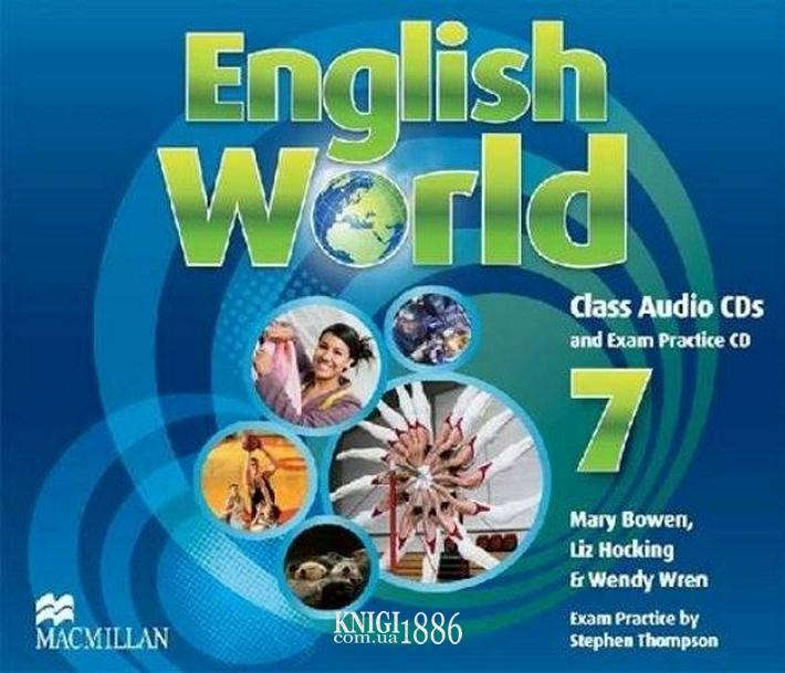 Аудио-диск «English World», уровень 7, Mary Bowen, Liz Hocking | Macmillan