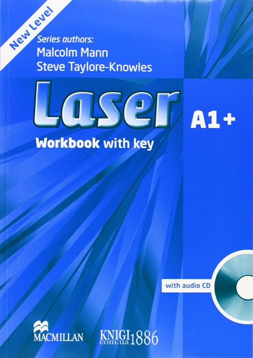 Рабочая тетрадь «Laser» третье издание, уровень (A1+) Beginner-Elementary, Malcolm Mann and Steve Taylore-Knowles | Macmillan