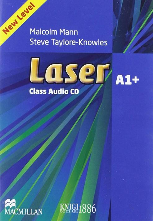 Аудио-диск «Laser» третье издание, уровень (A1+) Beginner-Elementary, Malcolm Mann and Steve Taylore-Knowles   Macmillan