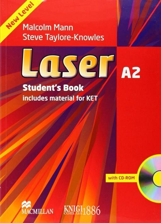 Учебник «Laser» третье издание, уровень (A2) Pre-Intermediate, Malcolm Mann | Macmillan