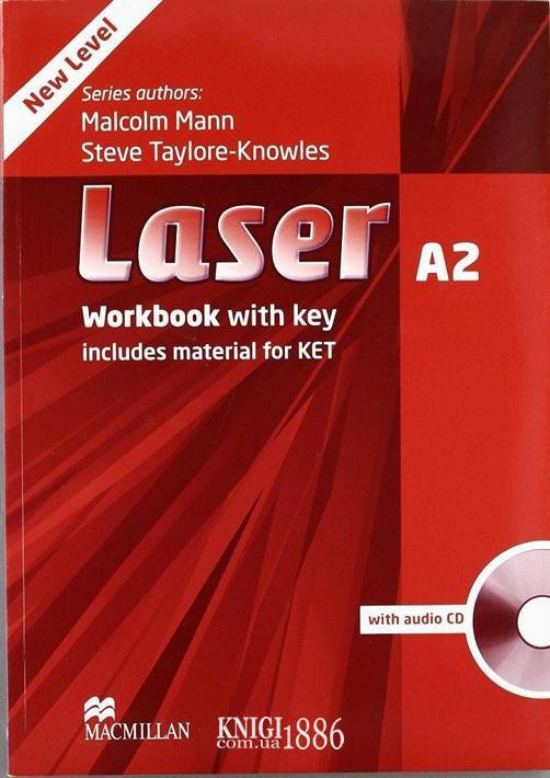 Рабочая тетрадь «Laser» третье издание, уровень (A2) Pre-Intermediate, Malcolm Mann | Macmillan