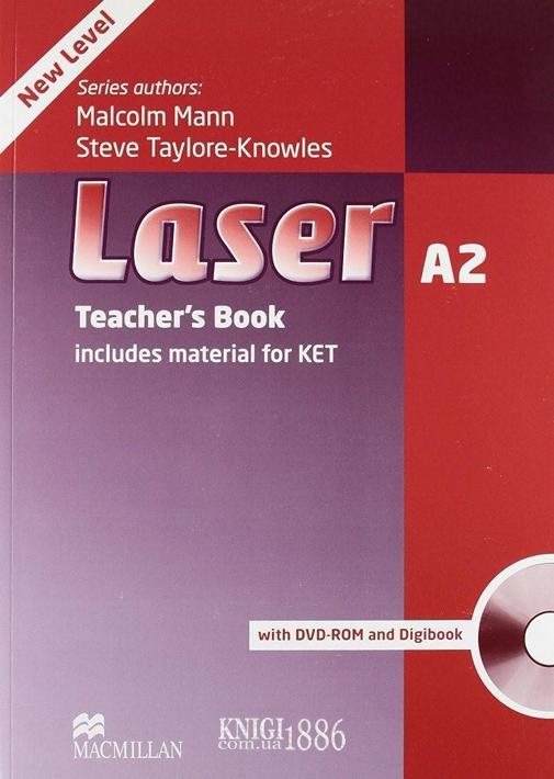 Книга для учителя «Laser» третье издание, уровень (A2) Pre-Intermediate, Malcolm Mann | Macmillan