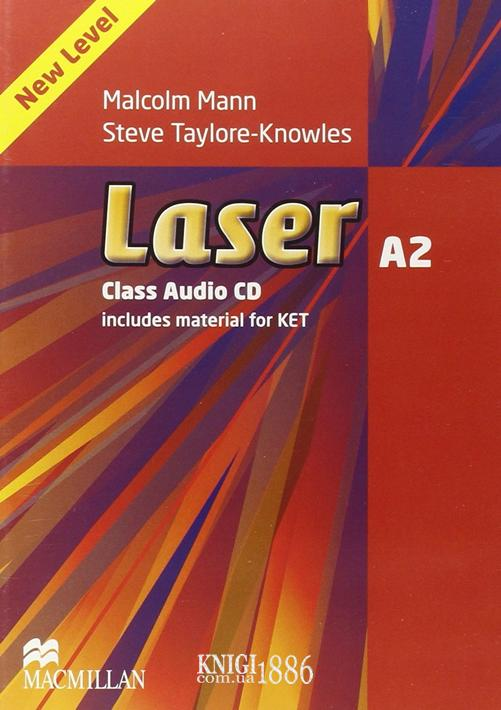Аудио-диск «Laser» третье издание, уровень (A2) Pre-Intermediate, Malcolm Mann and Steve Taylore-Knowles | Macmillan