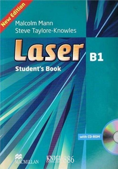 Учебник «Laser» третье издание, уровень (B1) Intermediate, Malcolm Mann | Macmillan