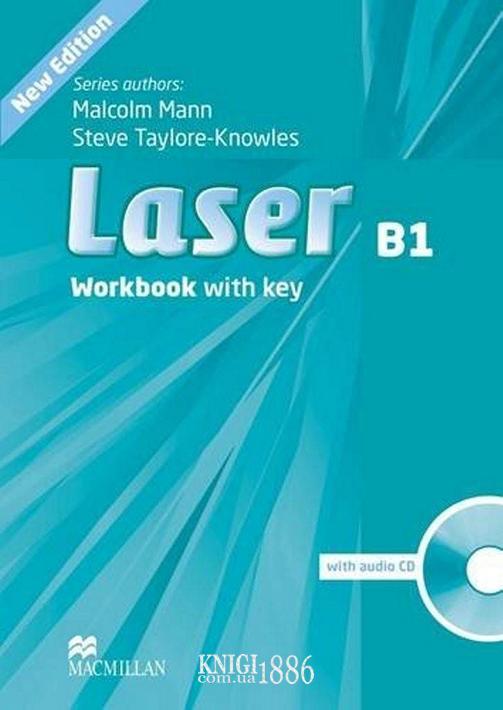 Рабочая тетрадь «Laser» третье издание, уровень (B1) Intermediate, Malcolm Mann,Steve Taylore-Knowles | Macmillan