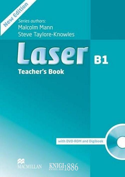 Книга для учителя «Laser» третье издание, уровень (B1) Intermediate, Michele Crawford   Macmillan