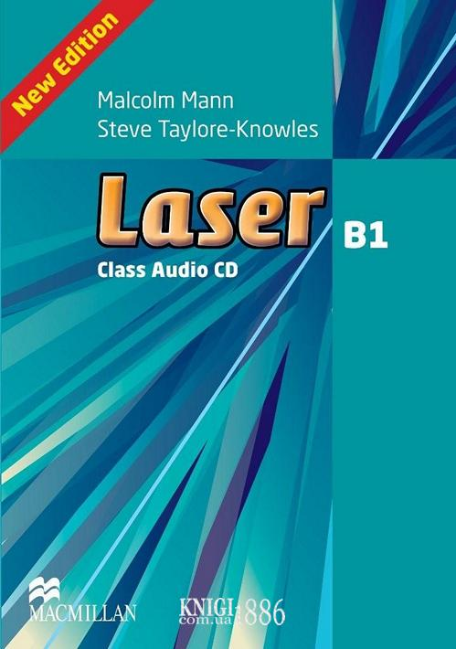 Аудио-диск «Laser» третье издание, уровень (B1) Intermediate, Malcolm Mann | Macmillan