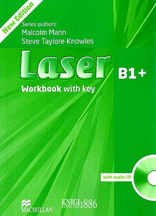 Рабочая тетрадь «Laser» третье издание, уровень (B1+) Intermediate, Malcolm Mann,Steve Taylore-Knowles | Macmillan
