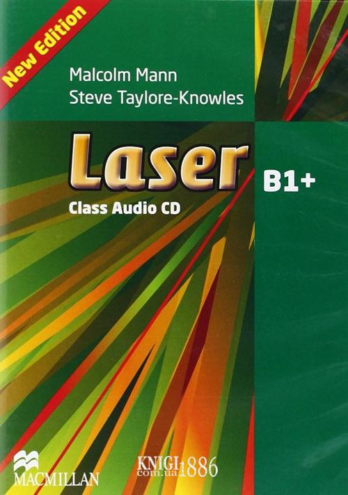 Аудио-диск «Laser» третье издание, уровень (B1+) Intermediate, Malcolm Mann and Steve Taylore-Knowles | Macmillan