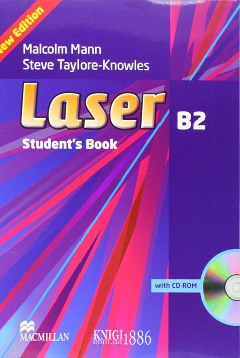 Учебник «Laser» третье издание, уровень (B2) Upper-Intermediate, Malcolm Mann,Steve Taylore-Knowles | Macmillan