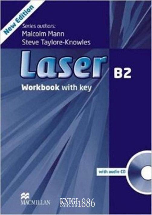 Рабочая тетрадь «Laser» третье издание, уровень (B2) Upper-Intermediate, Malcolm Mann,Steve Taylore-Knowles | Macmillan
