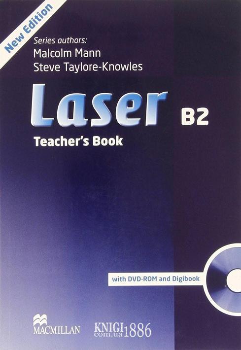 Книга для учителя «Laser» третье издание, уровень (B2) Upper-Intermediate, Malcolm Mann,Steve Taylore-Knowles   Macmillan