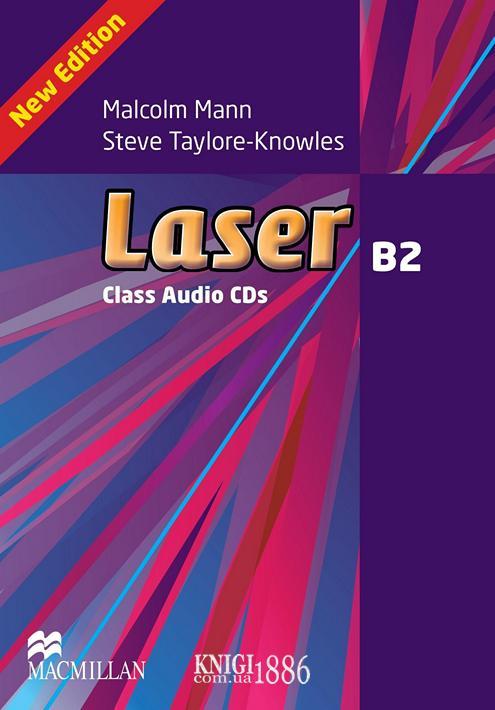 Аудио-диск «Laser» третье издание, уровень (B2) Upper-Intermediate, Malcolm Mann and Steve Taylore-Knowles   Macmillan