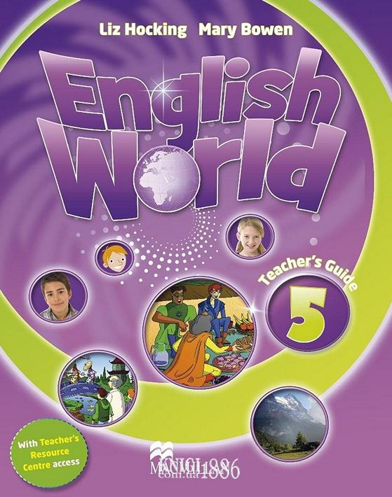 Книга для учителя «English World», уровень 5, Mary Bowen, Liz Hocking | Macmillan
