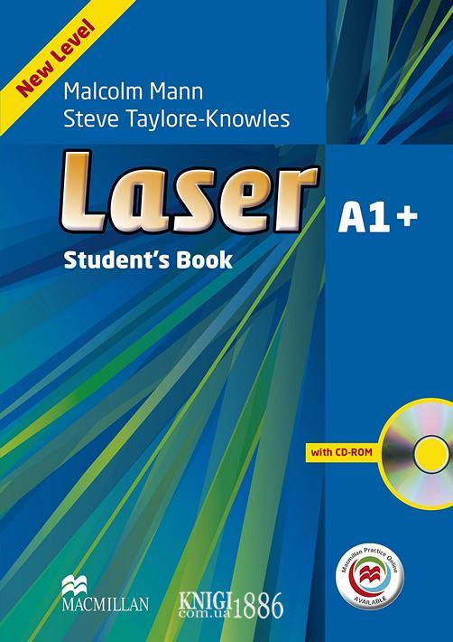 Учебник с онлайн поддержкой «Laser» третье издание, уровень (A1+) Beginner-Elementary, Malcolm Mann and Steve Taylore-Knowles   Macmillan