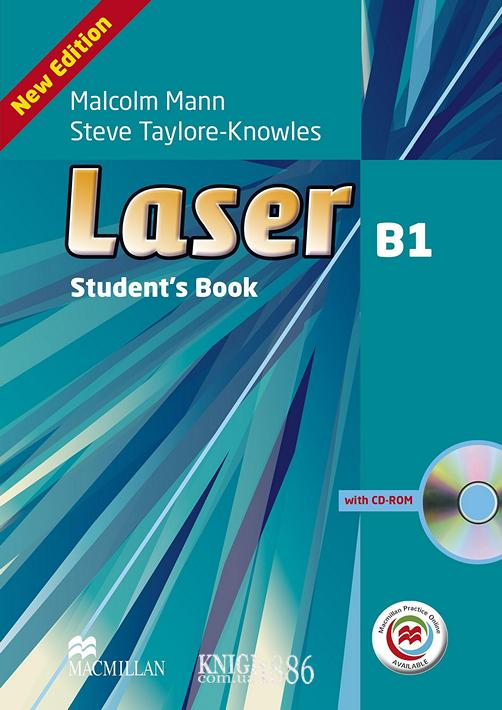 Учебник с онлайн поддержкой «Laser» третье издание, уровень (B1) Intermediate, Malcolm Mann and Steve Taylore-Knowles   Macmillan