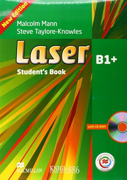 Учебник с онлайн поддержкой «Laser» третье издание, уровень (B1+) Intermediate, Malcolm Mann and Steve Taylore-Knowles   Macmillan
