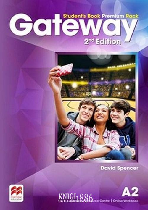 Учебник Premium «Gateway» второе издание, уровень (A2) Pre-Intermediate, Dave Spencer | Macmillan