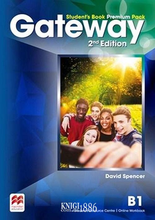 Учебник Premium «Gateway» второе издание, уровень (B1) Intermediate, Dave Spencer | Macmillan