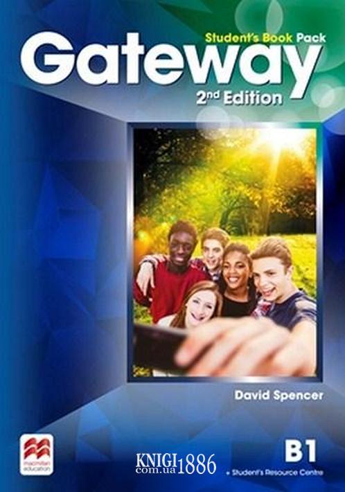 Учебник «Gateway» второе издание, уровень (B1) Intermediate, Dave Spencer | Macmillan