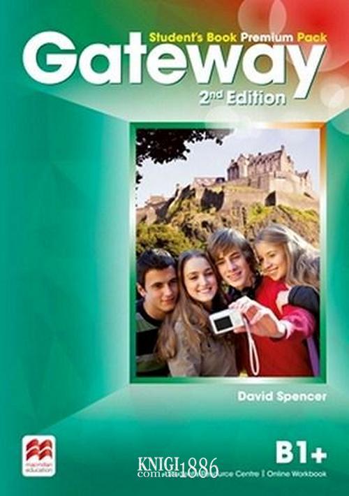 Учебник Premium «Gateway» второе издание, уровень (B1+) Intermediate, Dave Spencer | Macmillan