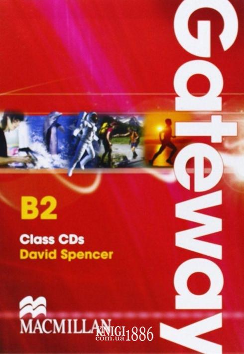 Аудио-диск «Gateway», уровень (B2) Upper-Intermediate, David Spence | Macmillan