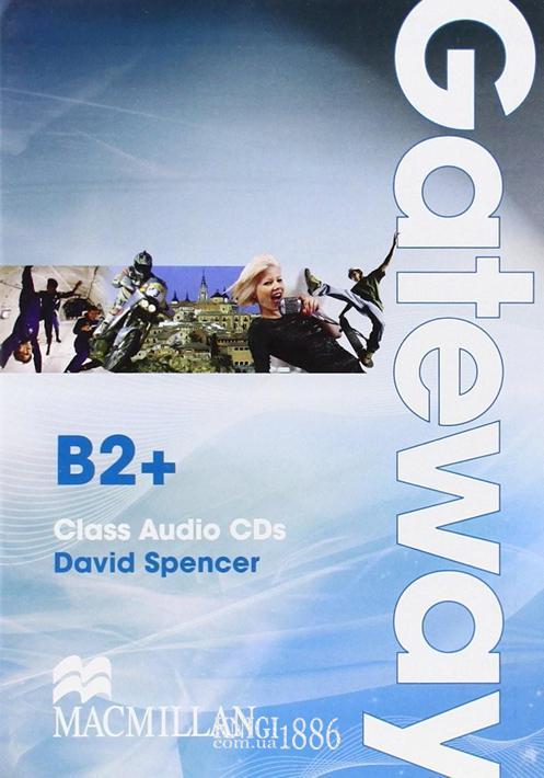 Аудио-диск (2 диска) «Gateway», уровень (B2+) Upper-Intermediate, David Spence   Macmillan