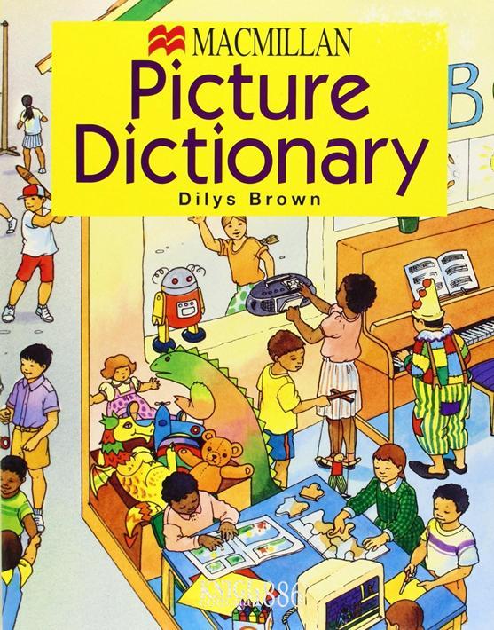 Словарь «Macmillan Picture Dictionary Paperback», Dilys Brown | Macmillan