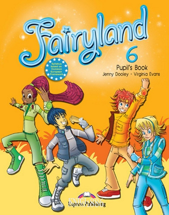 Учебник «Fairyland», уровень 6, Jenny Dooley | Exspress Publishing