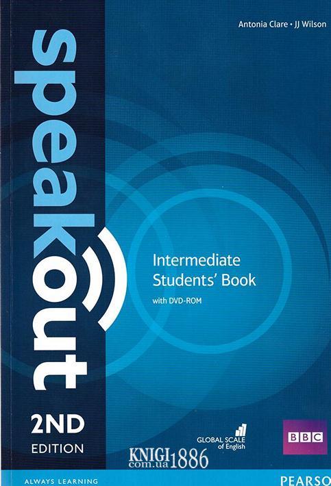 Учебник «Speakout» второе издание, уровень (B1) Intermediate, Antonia Clare, JJ Wilson | Pearson-Longman
