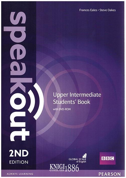 Учебник «Speakout» второе издание, уровень (B2) Upper-Intermediate, Frances Eales, Steve Oakes | Pearson-Longman