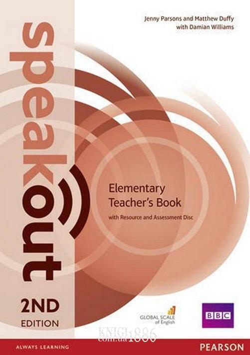 Книга для учителя «Speakout» второе издание, уровень (A1) Elementary, Jenny Parsons, Damian Williams | Pearson-Longman