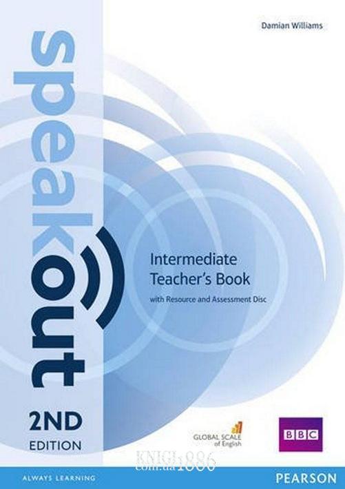 Книга для учителя «Speakout» второе издание, уровень (B1) Intermediate, Jenny Parsons, Damian Williams | Pearson-Longman