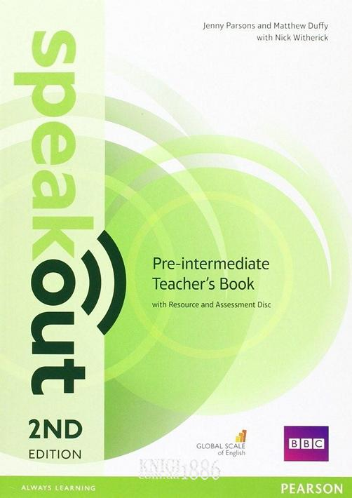 Книга для учителя «Speakout» второе издание, уровень (A2) Pre-Intermediate, Jenny Parsons, Damian Williams | Pearson-Longman