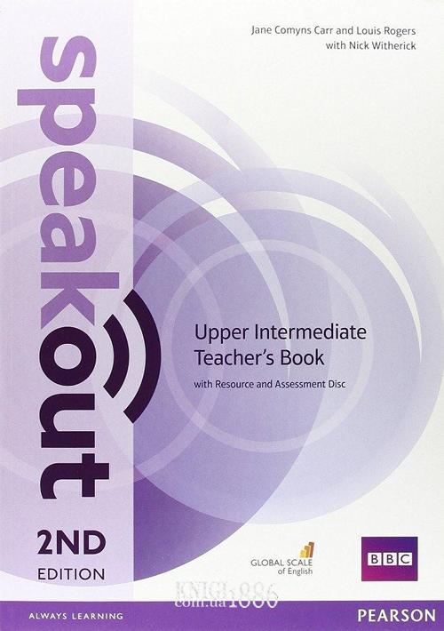 Книга для учителя «Speakout» второе издание, уровень (B2) Upper-Intermediate, Jane Comyns Carr, Frances Eales, Damian Williams | Pearson-Longman