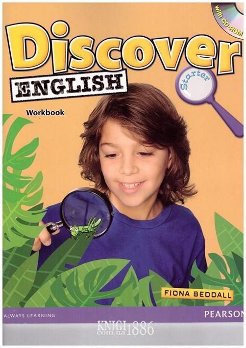 Рабочая тетрадь «Discover English», уровень Starter, Fiona Beddal | Pearson-Longman