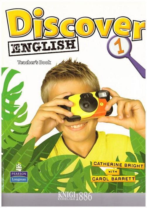 Книга для учителя «Discover English», уровень 1, Catherine Bright, Carol Barrett | Pearson-Longman