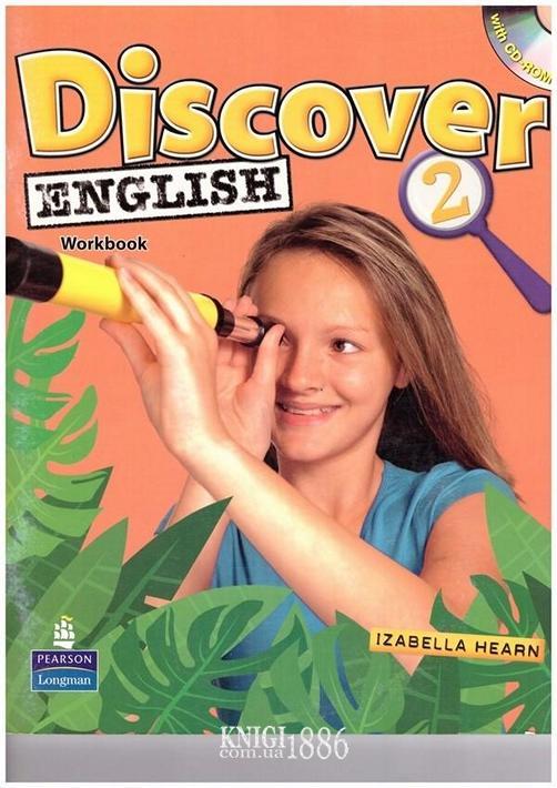 Рабочая тетрадь «Discover English», уровень 2, Izabella Hearn | Pearson-Longman