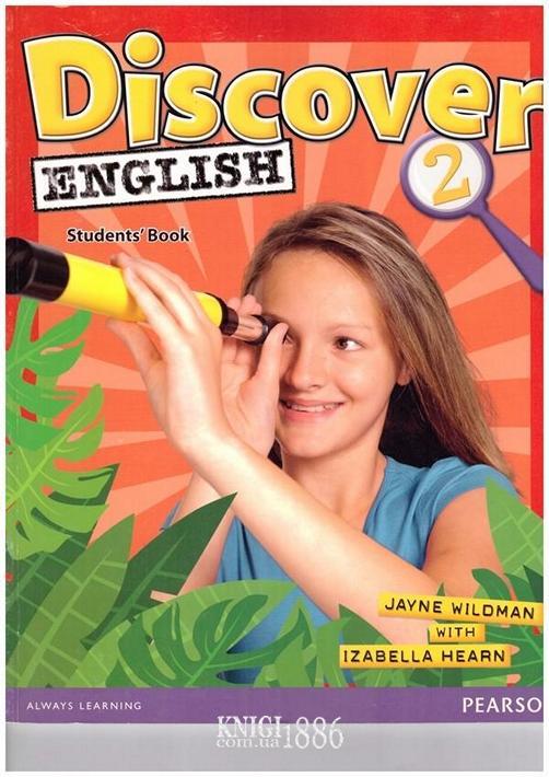 Учебник «Discover English», уровень 2, Izabella Hearn, Jayne Wildman | Pearson-Longman