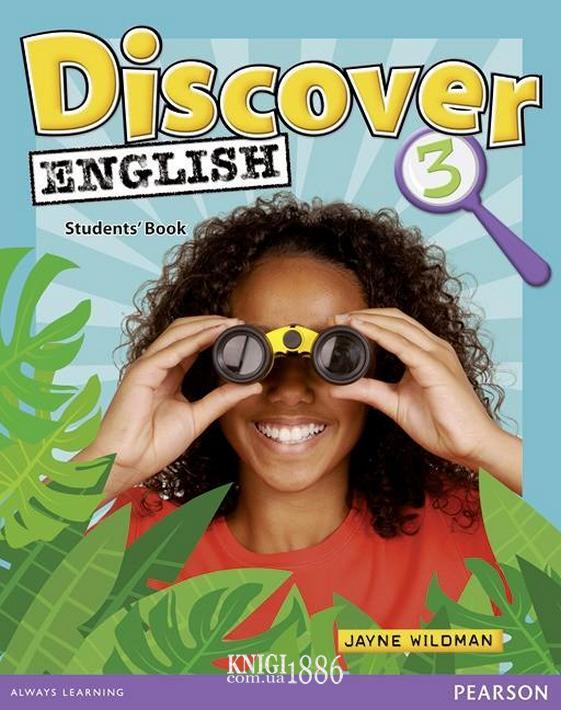 Учебник «Discover English», уровень 3, Kate Wakemen | Pearson-Longman