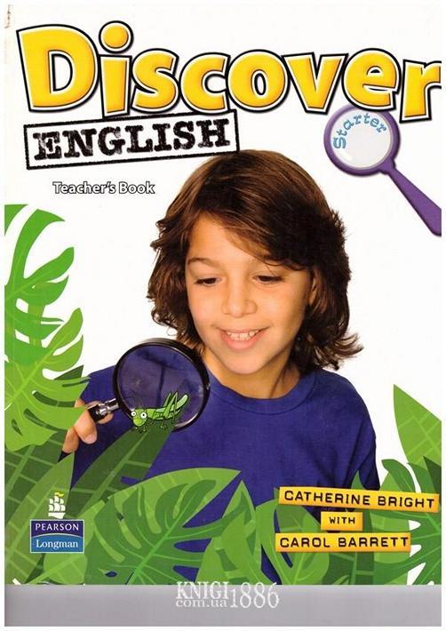 Книга для учителя «Discover English», уровень Starter, Catherine Bright, Carol Barrett | Pearson-Longman