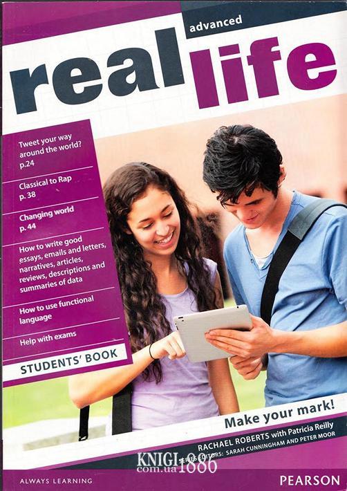 Учебник «Real Life», уровень (C1) Advanced, Sarah Cunningham, Peter Moor, Martyn Hobbs, Julia Starr Keddle | Pearson-Longman