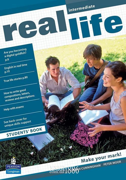 Учебник «Real Life», уровень (B1) Intermediate, Sarah Cunningham, Peter Moor, Martyn Hobbs, Julia Starr Keddle | Pearson-Longman