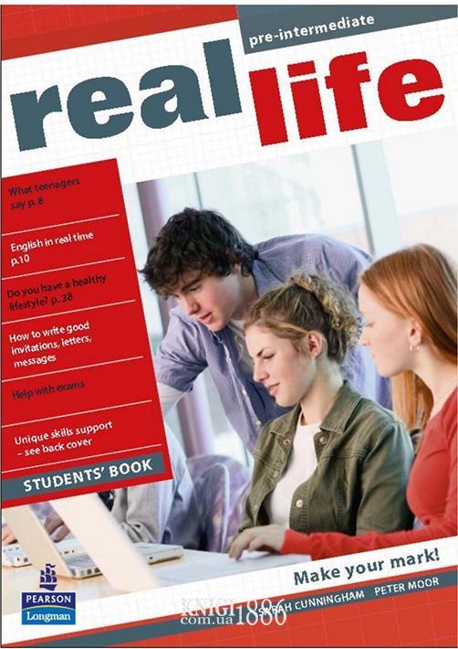 Учебник «Real Life», уровень (A2) Pre-Intermediate, Sarah Cunningham, Peter Moor, Martyn Hobbs, Julia Starr Keddle | Pearson-Longman