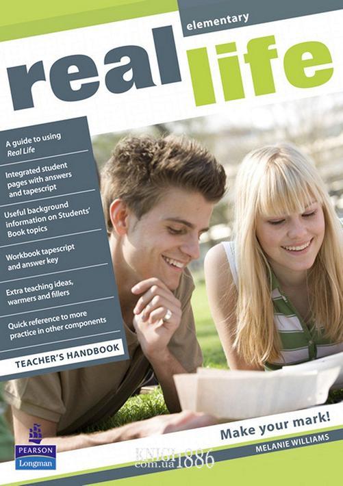 Книга для учителя «Real Life», уровень (A1) Elementary, Sarah Cunningham, Peter Moor, Martyn Hobbs, Julia Starr Keddle | Pearson-Longman