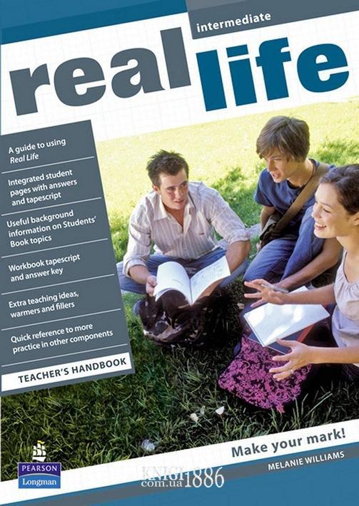 Книга для учителя «Real Life», уровень (B1) Intermediate, Sarah Cunningham, Peter Moor, Martyn Hobbs, Julia Starr Keddle | Pearson-Longman